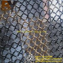 Edelstahl Ring Metall Mesh Vorhänge