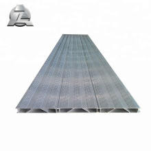 Pont en aluminium de ponton de terrasse ignifuge de revêtement en poudre 6063-T5