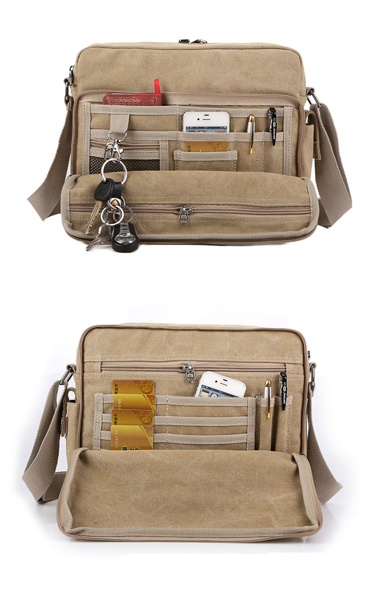 Canvas Satchel Bags