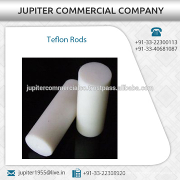Temperature Resistant Teflon Rods from Certified Commercial Suppliers
