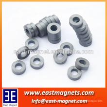 Íman de ferrite fabricado na China // usado em motores magnéticos permanentes e alto-falantes
