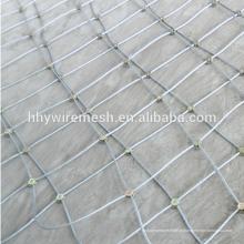 SNS Rockfall declive proteção rede de aço inoxidável preço líquido de malha de arame