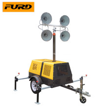 Led Mast Light Tower With Generator