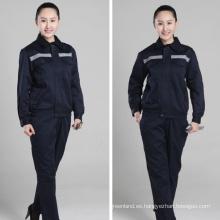 uniformes de manga larga diseño personalizado carpintero workwear