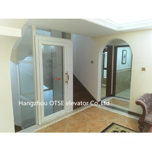 Cheap home elevator lift glass shaft nice and stable