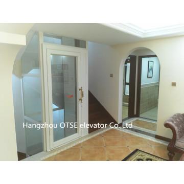 250kg 2 Person verwendet Traktion Typ Hause Mini Aufzug Aufzug