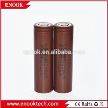 Batterie de 3000mah hg2 Chocoloate 18650 authentique LG