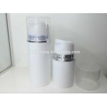 Nouveau modèle pp matériel bouteille cosmétique sans air, 50ml / 100ml bouteille cosmétique airless pump pour promotion