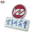 Logo personnalisé de badge en métal de goupille de revers de vêtements scolaires