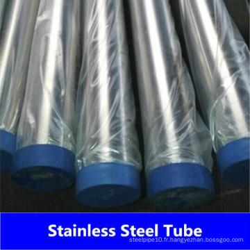 Tuyau / tube en acier inoxydable sans soudure de la Chine (310 310S)