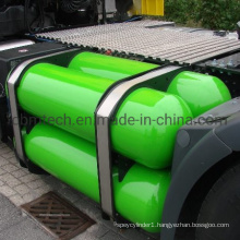 CNG Steel Gas Cylinder for Car with 200bar Pressure and ISO11439 Standard