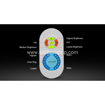 LED Touching Remote with Color Temperature Adjusting