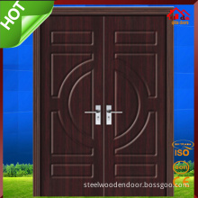 CE Soncap Approved Exterior Wood Wooden Main Door Design