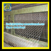 Hexagonal wire chicken mesh / weave wire mesh