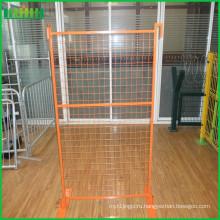 Временный забор заслон барьер заграждения пешеходного заграждения (завод)