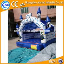 Bouncer de salto inflável inflável, castelo saltando inflável que salta o castelo