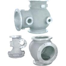 Pièce de tuyau de coulée en aluminium de précision