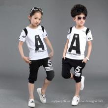 Moda caliente de la venta y trajes deportivos lindos para niñas