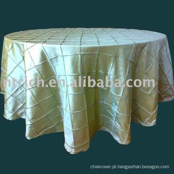 pano de mesa pintuck, tafetá toalha de mesa, tampa de mesa, toalhas de mesa para casamento, banquete, hotel