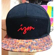 100% algodón 5 o 6 paneles bordados deportivos gorra de béisbol