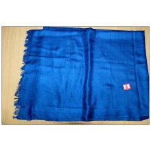 Modal und Wolle Unifarbener Schal
