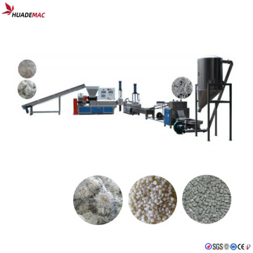 Reciclar la línea de peletización de residuos de la máquina de plástico