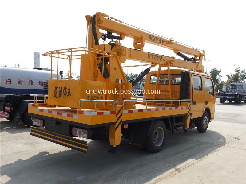 aerial working platform truck 3