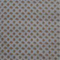 Printed Cotton Poplin Fabric With Small Diamond Check