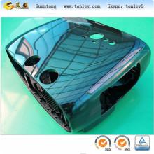 Топ качества хром цветной ABS пользовательских жесткий крышку случае для мото e