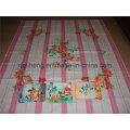 Moda T / C 50/50 333 Fios estampados Folha de cama tingida