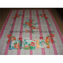 Мода T / C 50/50 333 Печатная пряжа окрашенная постельное белье