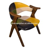 OEM Solid wood frame Dining Chair HDC1505