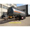 Remorques citernes à acide chlorhydrique 28500L 30T