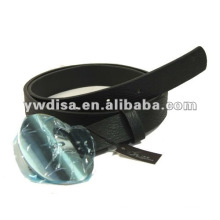 Women's PU Belt With PU, Alloy Accessories With Rhodium Plated