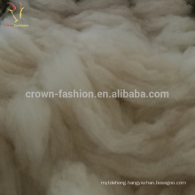 100% White Cashmere Fine Wool Fiber 30-35mc