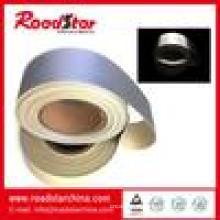 Prateado couro reflexivo de espuma de PVC para segurança