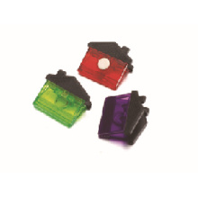 Good quality house shape magentic plastic clip