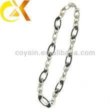 Ожерелье шарма женщин ювелирных изделий оптовой продажи нержавеющей стали серебряное