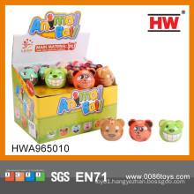 Funny 7CM PU stress ball bear ball 36pcs/display box toy ball
