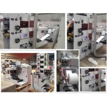 Flexographic печатная машина (ЗБ-420-2С) 2 цвета