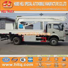 FOTON 4x2 HLQ5102GJKB insulated hydraulic lifting platform truck 14M cheap price hot sale for sale
