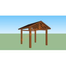 WPC Guardrail Holz Plastik Composite Leitplanke
