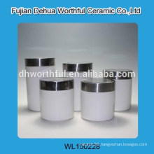 Different sizes ceramic seal pot with ordinary design
