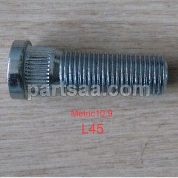 L45mm length knurled wheel studs