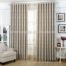 Luxus maßgeschneiderte Jacquard-Fenster Vorhang Stoff
