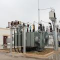 Transformateur de puissance immergé dans l'huile
