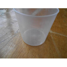 Tasse de médecine de mesure en plastique jetable de 60 ml