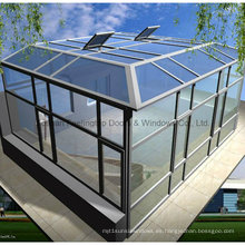 Feelingtop Thermal Break Estructura de aluminio Doble acristalamiento Sunroom (FT-S)