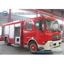 Camion de lutte contre l'incendie de réservoir d'eau et de réservoir de mousse de Dongfeng 4 * 2 6000L