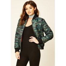 Casual Camo Pilot Baseball Jacket
